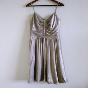Banana Republic Women Silver Aline Dress Size 4